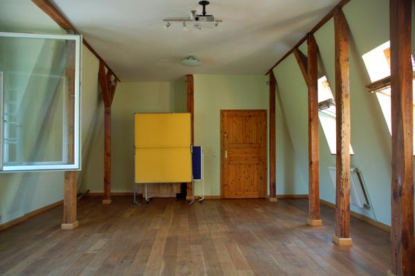 Ökovilla großer Seminarraum