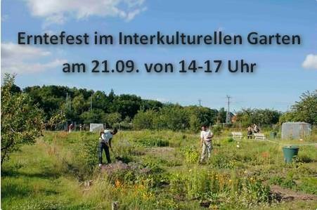 Erntefest im Interkulturellen Garten Rostock