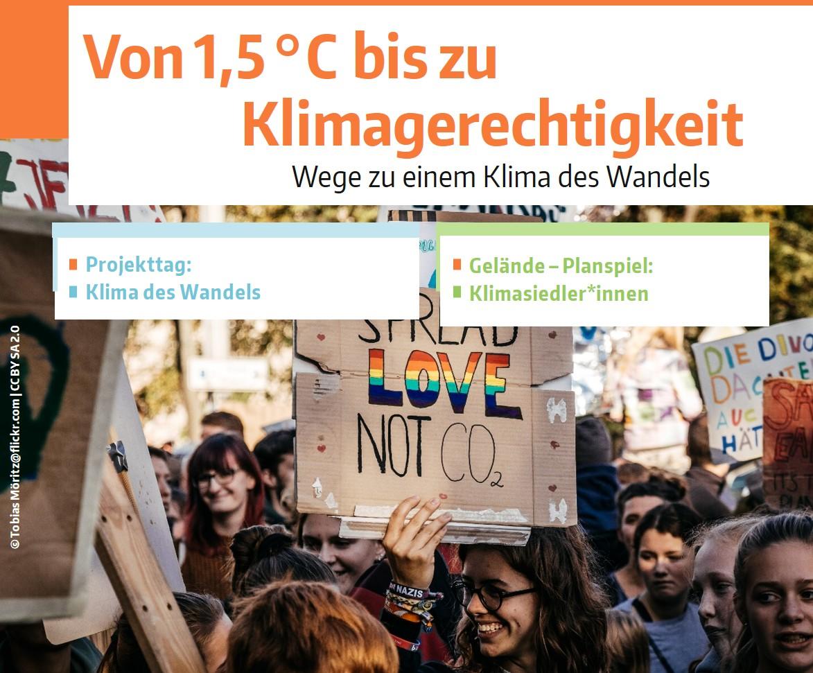 Grafik: Projekttage - Klimawandel