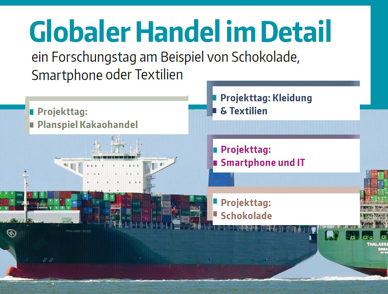 Grafik: Projekttage Globaler Handel