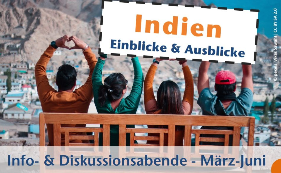 Titelbild: Infoabende Indien - Einblicke & Ausblicke