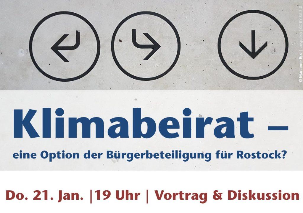 Titelbild Klimabeirat Rostock