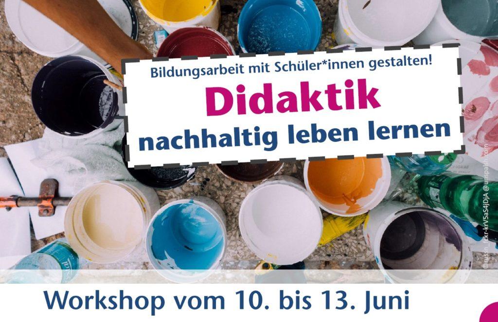 Bild: Workshop Didaktik -nachhaltig leben lernen-
