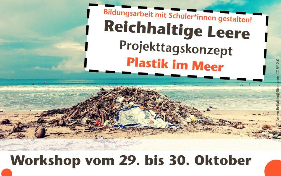 Titelbild Workshop Plastik-im-Meer